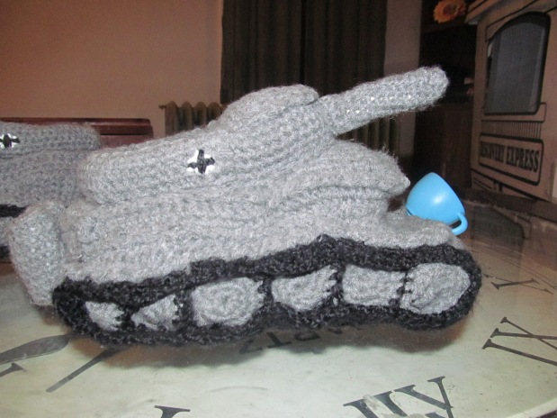 Tanks for the slippers