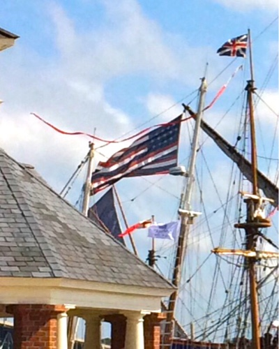 L'Hermione's Flag